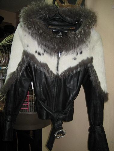 Сшить кожаную куртку с мехом своими руками