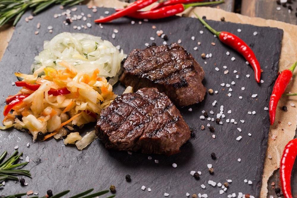 Рецепт стейка мраморной говядины фото