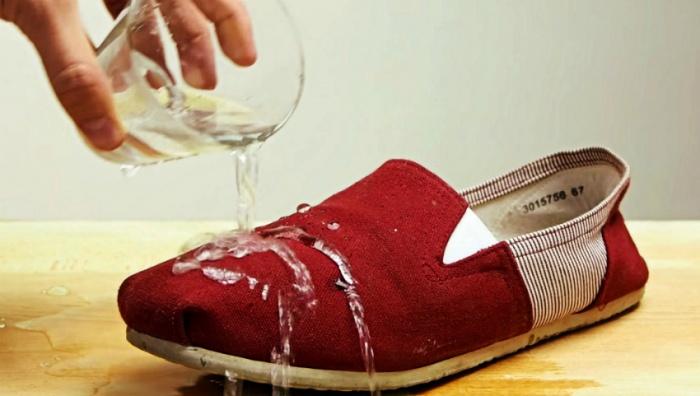 Водоотталкивающие средства для обуви своими руками
