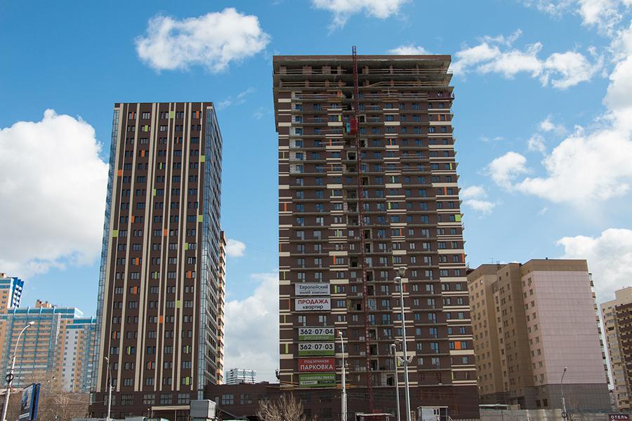 В этом году завершается строительство пятой секции одного из самых интересных жилых комплексов нашего города.