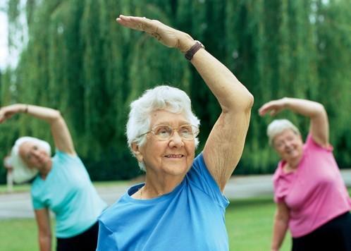 День здоровья для пожилых людей