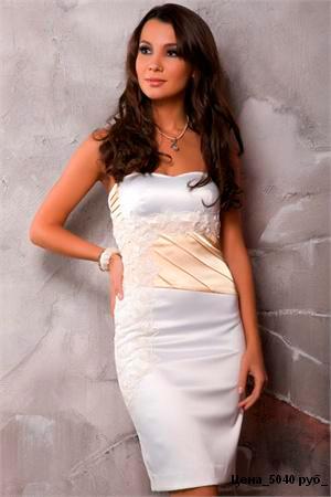 белое платье фото - фотография 6.