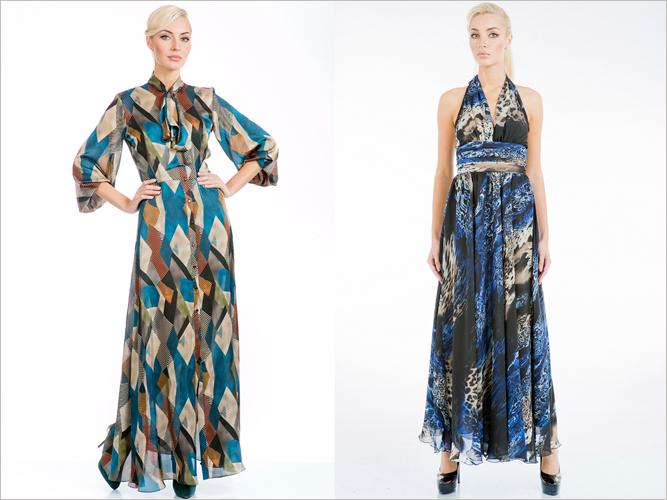 летние платья из трикотажа