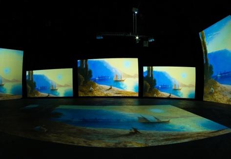 Выставка «Айвазовский — живые полотна» последнюю неделю в Новосибирске!