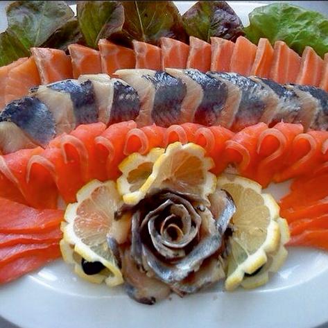 новые рыбные закуски с фото