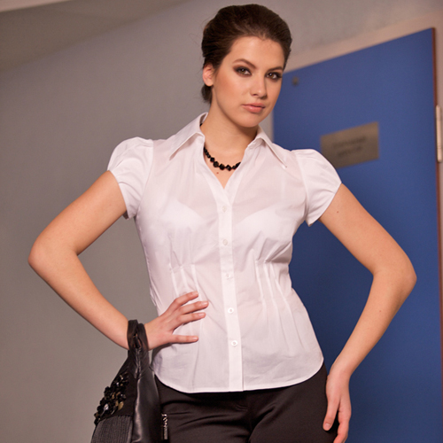 Белая Блузка Напоминающая Мужскую Рубашку Купить