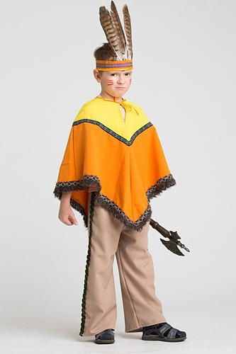 Как сделать костюм для индейца своими руками 8