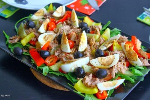 Салат нисуаз фото-рецепты