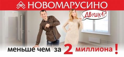 Двухкомнатная квартира (48,8 кв. м) за 1 920 000 руб.