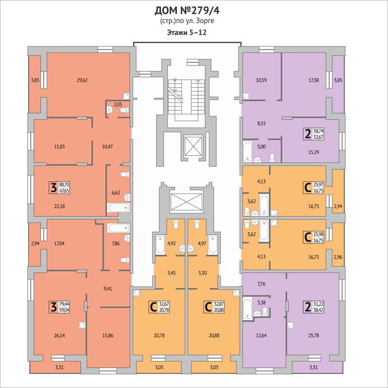 Открылись продажи 140 квартир