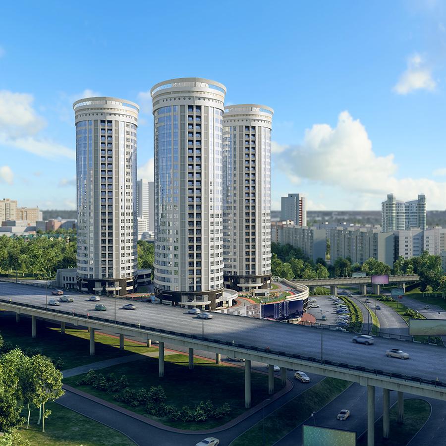 Комплекс «Флотилия» отражает новую для нашего города тенденцию авторской архитектуры. На смену типовым безликим постройкам приходят дома с собственным лицом и даже именем.