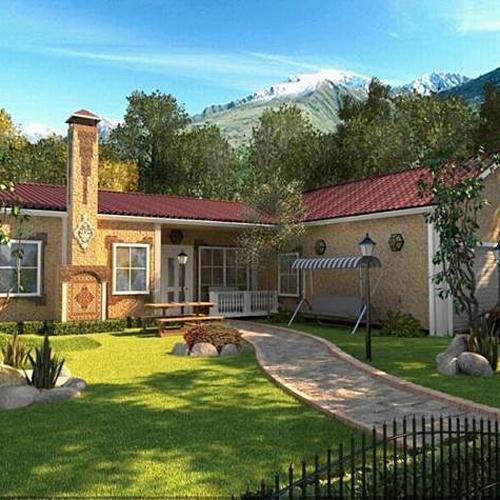 Красивые дома дачи фото