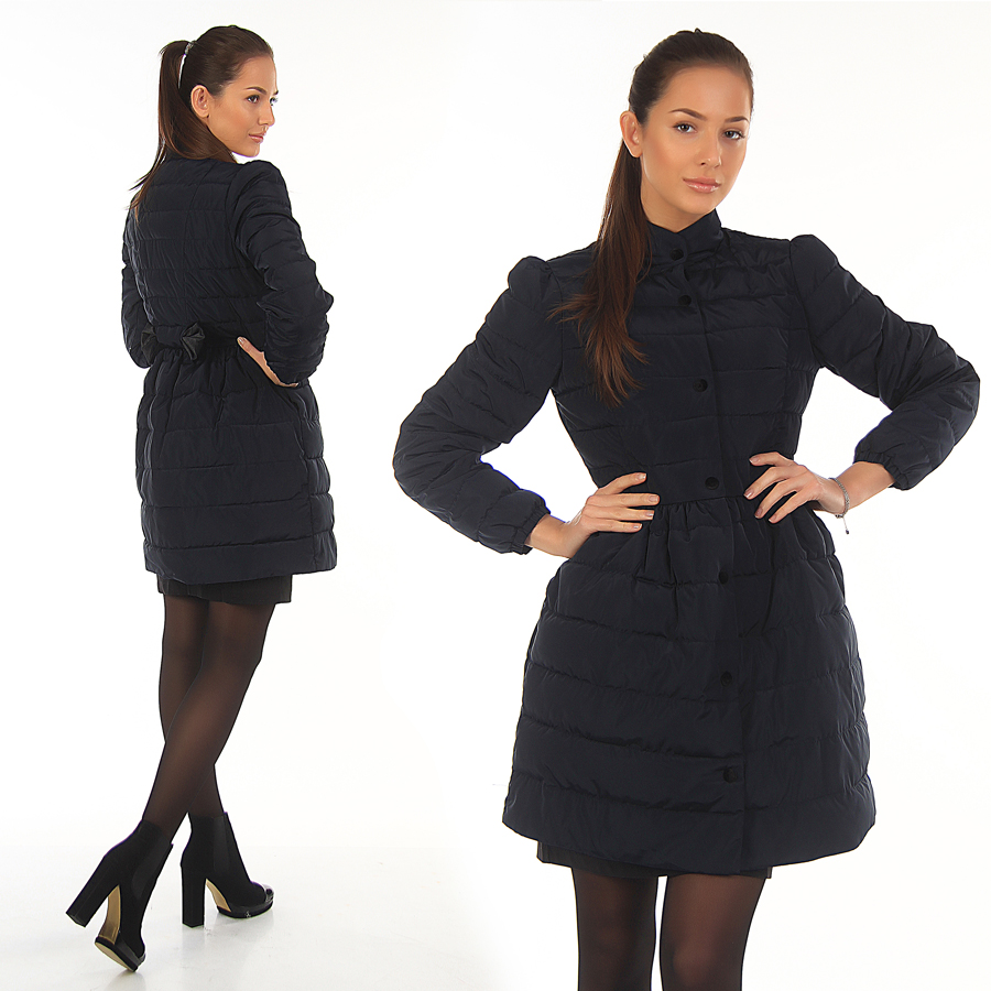 Осенние куртки под платье