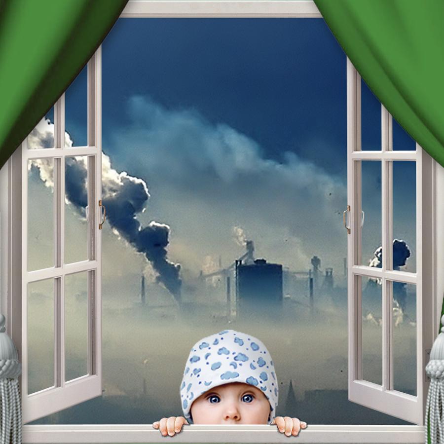 Фото через окно
