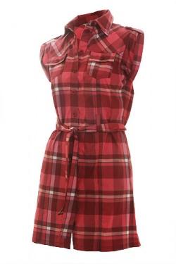Платье-рубашку в красную клетку можно.  500 pxРазмер.