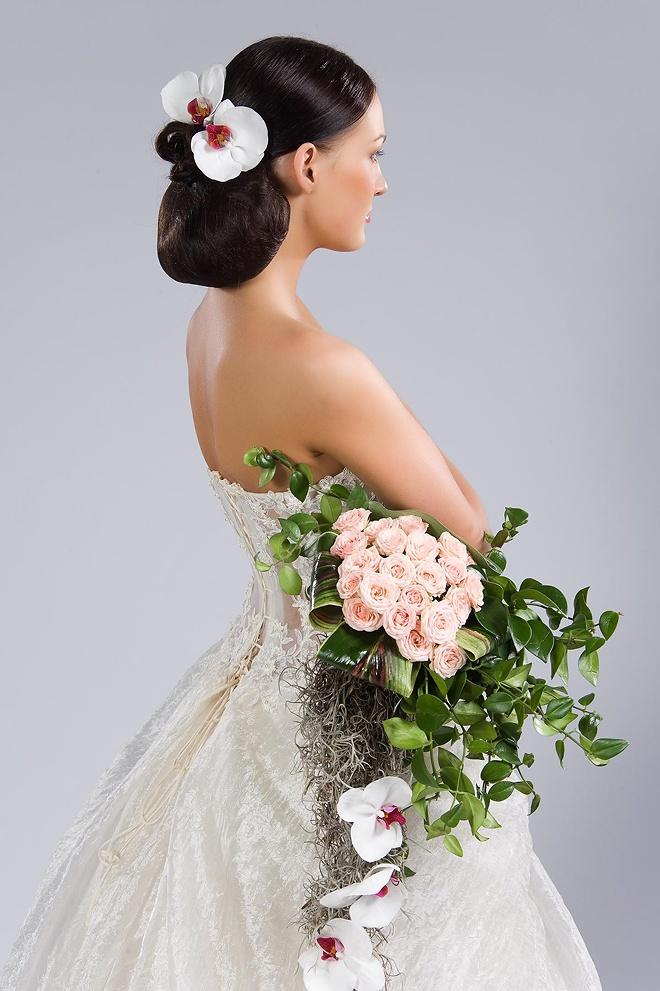 фотографии всех свадебные прически д