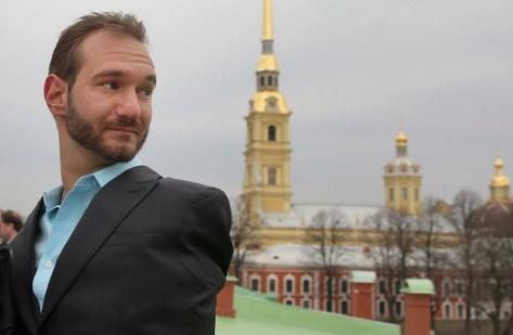 Мотивационный спикер Ник Вуйчич выступит в Новосибирске