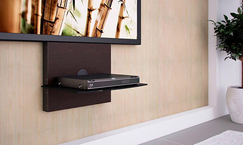 Полка под телевизор своими руками на стену