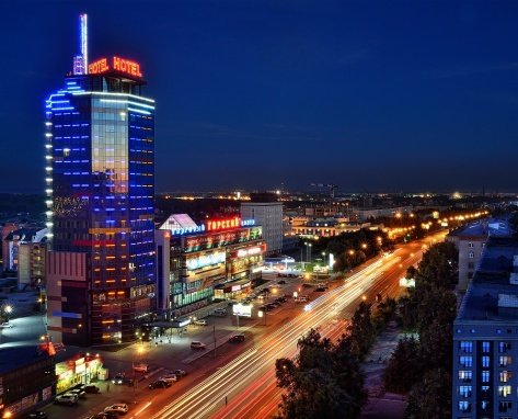 9 мая на крыше отеля Gorskiy city состоится первый в Новосибирске концерт на высоте 80 метров