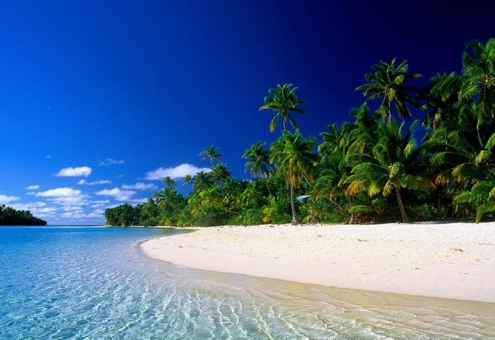 Лагуны тропические острова обои на рабочий стол