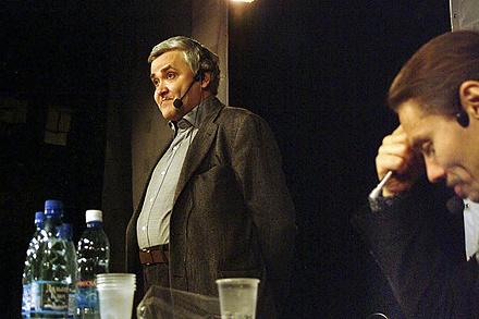 Максим Кронгауз и Александр Гаврилов