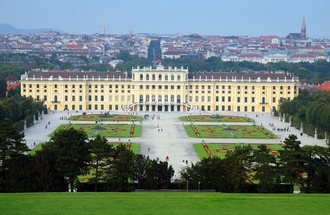 Вена столица Австрии музыкальный город Австрии на реке