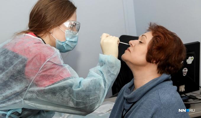 Немного меньше, чем в выходные: коронавирусом заболели еще 376 нижегородцев