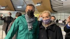 Алексея Навального задержала полиция в аэропорту Шереметьево