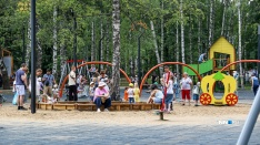 Благоустройство держится. Смотрим на инфраструктуру парка Пушкина спустя два года после обновления