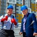 Участники спора —Алексей Янин и Александр Свежинцев (слева направо)