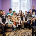 Семья Куприяновых в новом доме