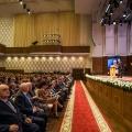 Зал филармонии с трудом вместил всех желающих присутствовать на инаугурации