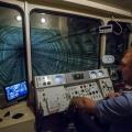Кабина машиниста новосибирского метро