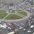 Затор на площади Калинина 7 сентября