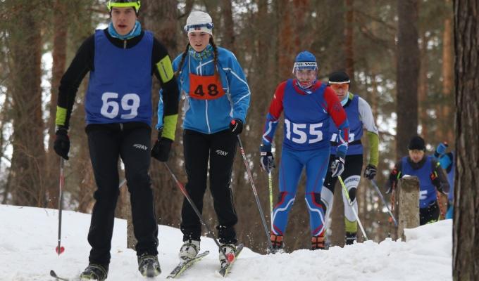 Суточный лыжный марафон прошёл в Стригинском бору