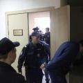 Сергея Юлина и Максима Овчинникова выводят из зала суда после оглашения приговора