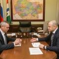 В ноябре прошлого года Травников и Тишуров обсудили вопросы кредитования агропромышленного комплекса