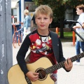 10-летний Миша Остапенко начал играть на гитаре три года назад.