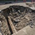 Из-за ремонтных работ на теплотрассе дорогу значительно сузят