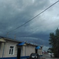 Незадолго до начала ливня.Фото предоставлено Ольгой Костиковой