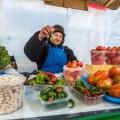 В Новосибирске вовсю идёт торговля местным урожаем