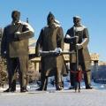Южных студентов больше всего впечатляет, конечно, сибирская зима
