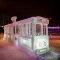 Один из символов Новосибирска — трамвай  № 13