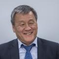 Теперь уже бывший министр ЖКХ области Евгений Ким
