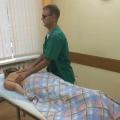 36-летний слепой массажист работает в Комплексном социальном центре
