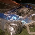 Mitsubishi FTO сильно разбита