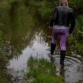 В Новосибирск пришла первая волна паводка