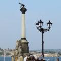 Визитная карточка Севастополя — памятник затопленным кораблям