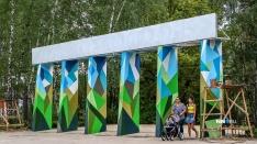Брусчатка и таблички «Не содиться». Показываем, как идёт реконструкция Светлоярского парка
