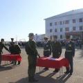 Присягу приняли срочники, призванные в армию весной этого года